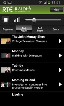 RTÉ Radio screenshot 4
