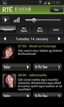 RTÉ Radio screenshot 5