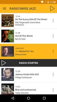 Radio Swiss Jazz Plakat