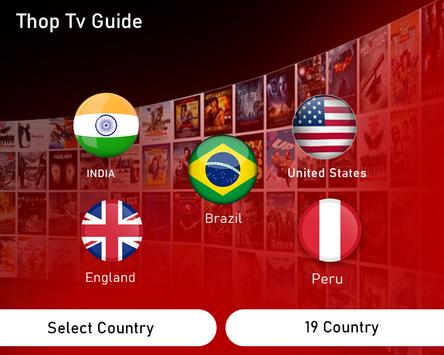 Live All TV Channels, Movies, Free Thop TV Guide स्क्रीनशॉट 2