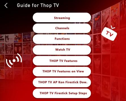 Live All TV Channels, Movies, Free Thop TV Guide स्क्रीनशॉट 5