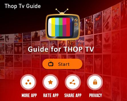 Live All TV Channels, Movies, Free Thop TV Guide स्क्रीनशॉट 8