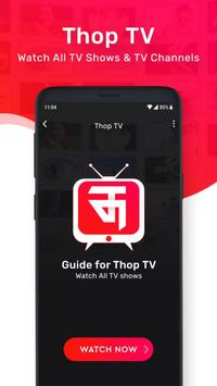 Thop TV: Free Live Tv movies 2021 Guide स्क्रीनशॉट 4