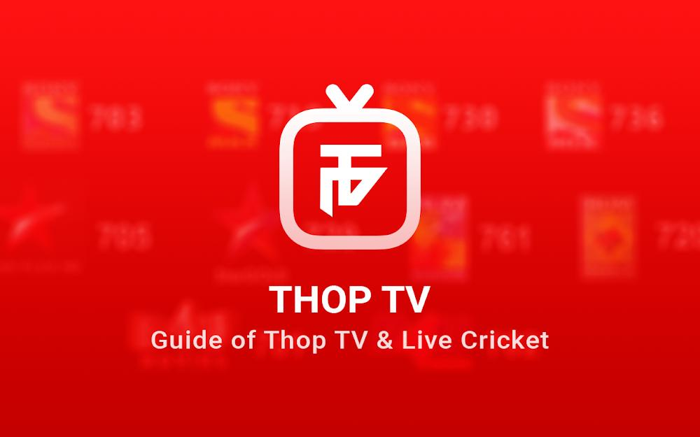 Thop TV - Free Live Cricket TV 2021 Guide for Android - APK Download