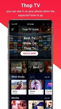 Thop TV- ThopTV Live Cricket, Thop TV Movies Guide screenshot 2