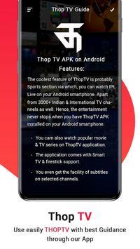 Thop TV- ThopTV Live Cricket, Thop TV Movies Guide screenshot 3