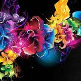 4D Neon Flowers Wallpapers