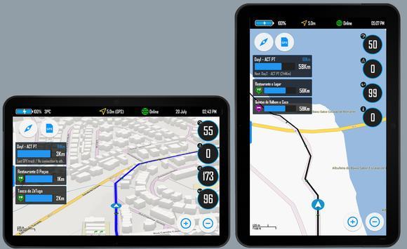 Drive Mode Dashboard 2 Screenshot 1