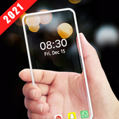 Transparent Wallpaper - Transparent Live Wallpaper icône
