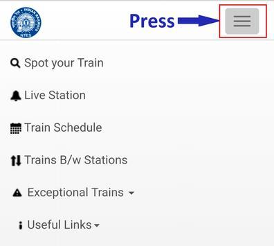 Train Enquiry screenshot 1