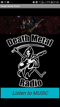 Death Metal Radio poster