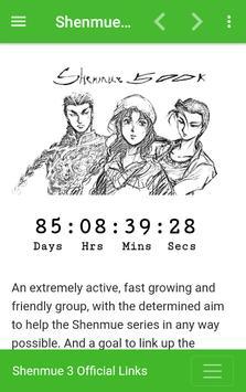 Shenmue 500K poster