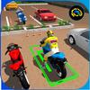 Fahrradpark 2017 - Motorradrennen Abenteuer 3D Zeichen