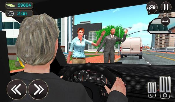 Taxi Driver Game - Offroad Taxi Driving Sim screenshot 14
