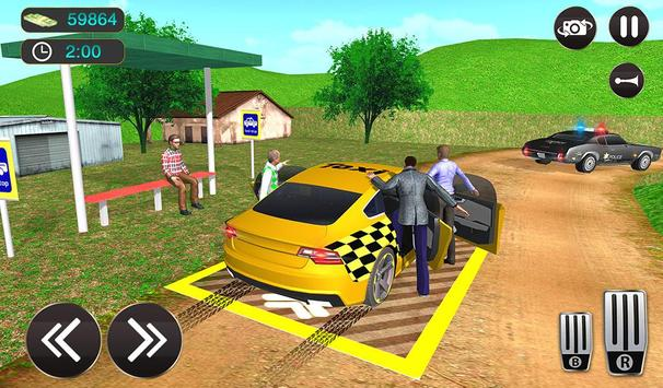 Taxi Driver Game - Offroad Taxi Driving Sim screenshot 15