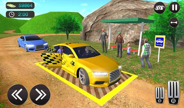 Taxi Driver Game - Offroad Taxi Driving Sim screenshot 16