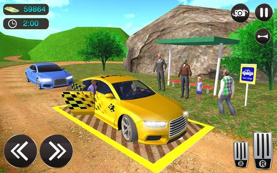 Taxi Driver Game - Offroad Taxi Driving Sim screenshot 10