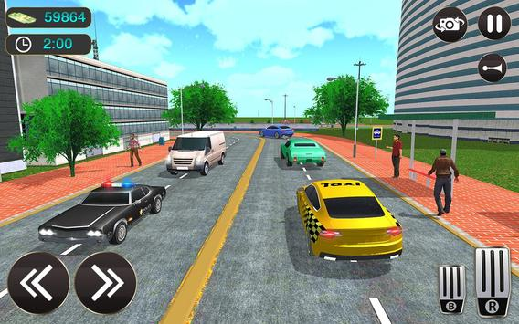Taxi Driver Game - Offroad Taxi Driving Sim screenshot 11