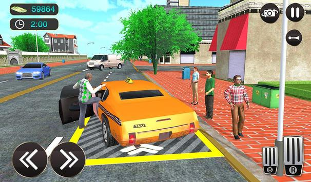 Taxi Driver Game - Offroad Taxi Driving Sim screenshot 12