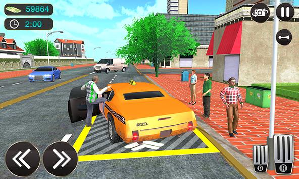 Taxi Driver Game - Offroad Taxi Driving Sim screenshot 1