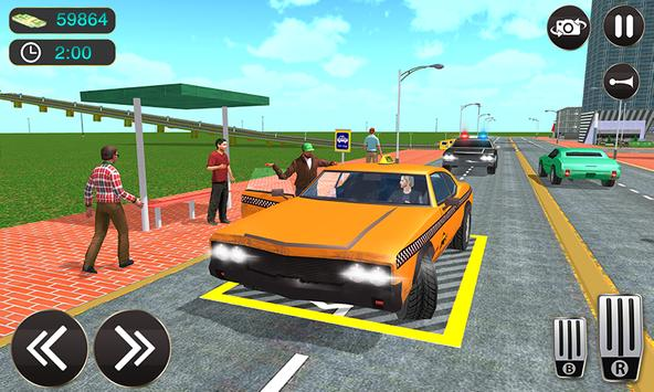 Taxi Driver Game - Offroad Taxi Driving Sim screenshot 2