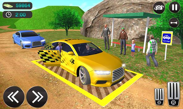 Taxi Driver Game - Offroad Taxi Driving Sim screenshot 4