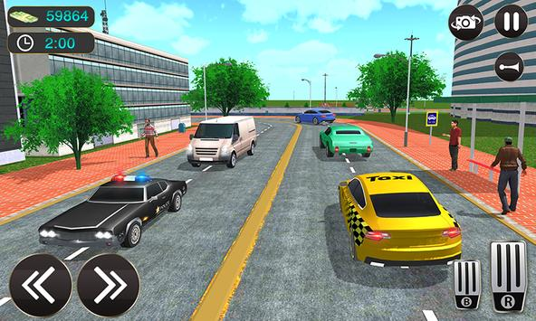 Taxi Driver Game - Offroad Taxi Driving Sim screenshot 5