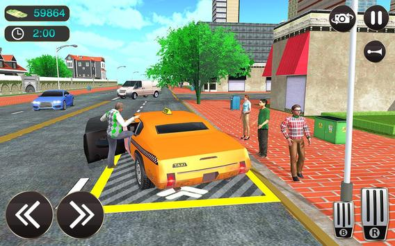 Taxi Driver Game - Offroad Taxi Driving Sim screenshot 6