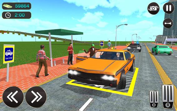 Taxi Driver Game - Offroad Taxi Driving Sim screenshot 7