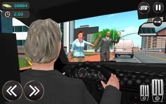 Taxi Driver Game - Offroad Taxi Driving Sim screenshot 8