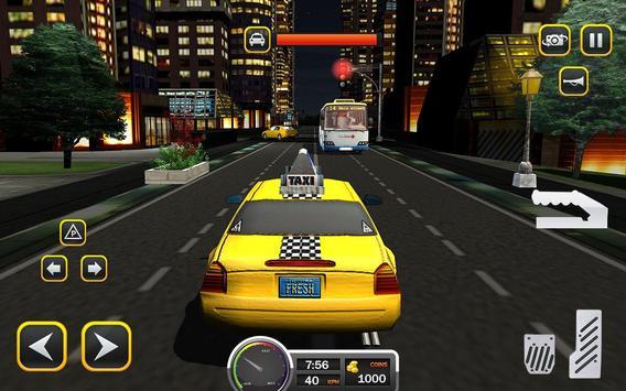 Taxi Driver 2017 - USA City Cab Driving Game screenshot 10