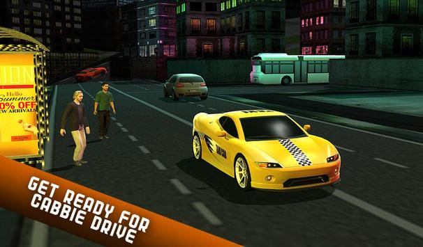 Taxi Driver 2017 - USA City Cab Driving Game screenshot 14