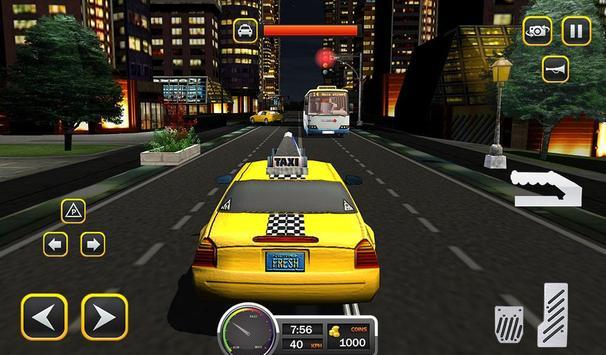 Taxi Driver 2017 - USA City Cab Driving Game screenshot 16