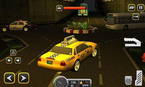 Taxi Driver 2017 - USA City Cab Driving Game screenshot 1