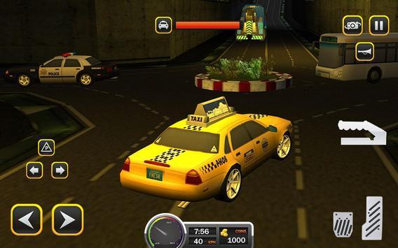 Taxi Driver 2017 - USA City Cab Driving Game screenshot 7