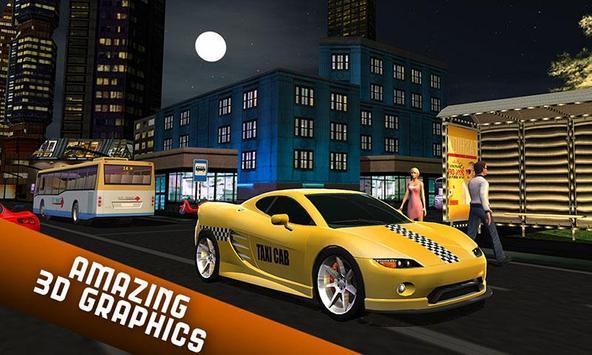 Taxi Driver 2017 - USA City Cab Driving Game screenshot 5