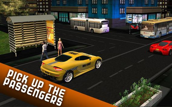 Taxi Driver 2017 - USA City Cab Driving Game screenshot 6