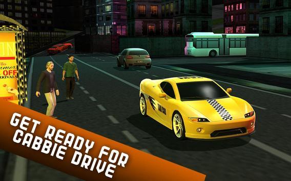 Taxi Driver 2017 - USA City Cab Driving Game screenshot 8
