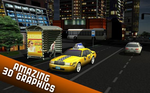 Taxi Driver 2017 - USA City Cab Driving Game screenshot 9