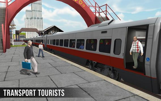 ट्रेन सिम्युलेटर 2017 - यूरो रेलवे ट्रैक ड्राइविंग स्क्रीनशॉट 7