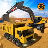Heavy Excavator Crane - City Construction Sim 2017 icon