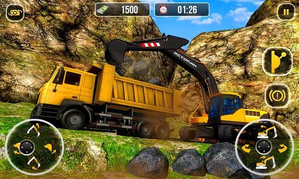 Ciężki koparka żuraw-budowa miasta sim screenshot 4