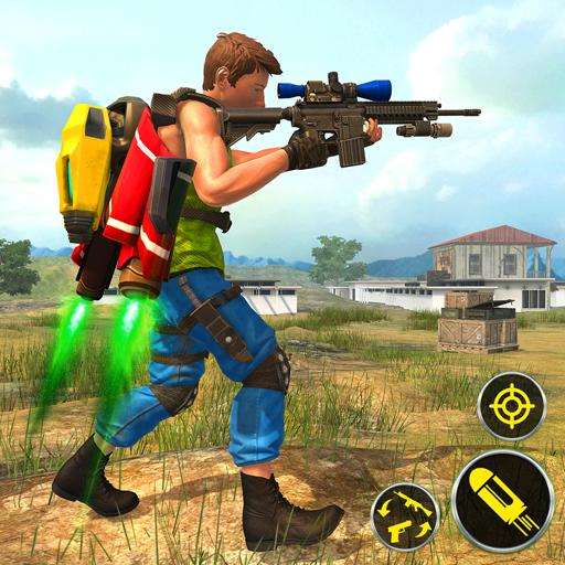 Jetpack Flying Shooting: Free FPS Game