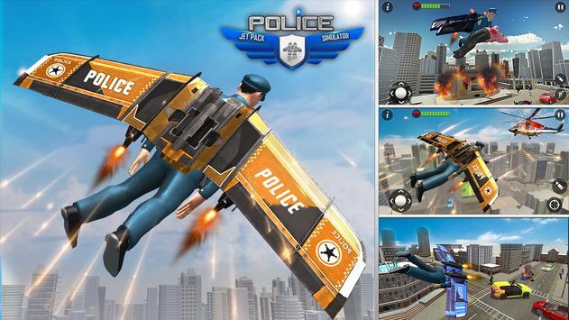 Flying Jetpack Hero screenshot 3