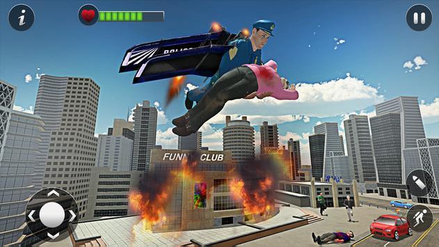 Flying Jetpack Hero screenshot 1