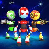 Futuristic Robot Gang Beasts Free:Fight Party Game