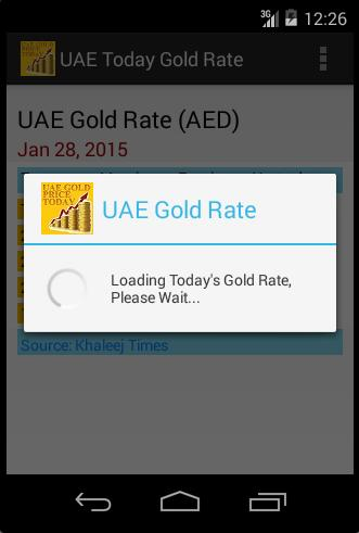Uae Gold Price Aed Today For Android