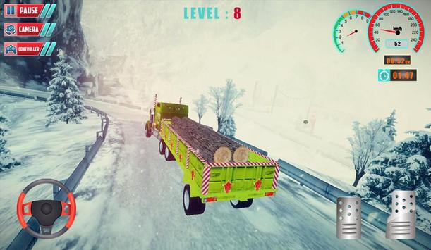 Chrismas Hill Climb Truck Driving screenshot 3