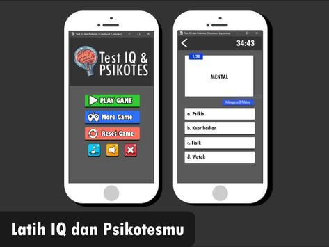 Tes IQ Dan Psikotes Quiz poster