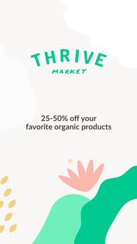 Thrive Market poster